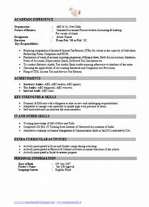 Mba Resume Format For Freshers Pdf Over 10000 Cv And Resume Samples With Free Download Free