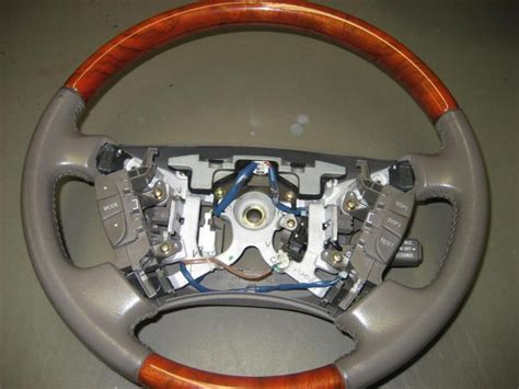 lexus steering wheel ca 2 ls400 ls430 wood leather steering wheels club