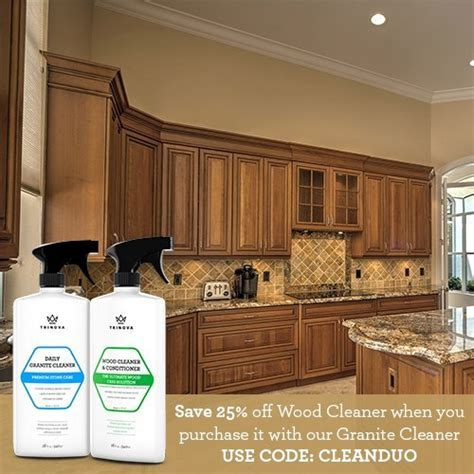 Wood Cleaner, Conditioner, Wax & Polish   Spray for