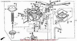 Honda Cn250 Helix 1986  G  Usa Carburetor