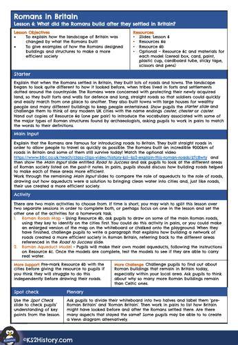 roman roads worksheet teaching resources