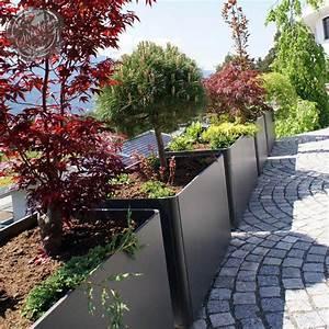 Modern, Outdoor, Planters, Rectangular, Tall, Planter, Pot, 24, U0026quot, H