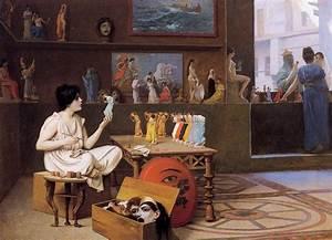 Art De Vie : painting breathes life into sculpture jean leon gerome ~ Zukunftsfamilie.com Idées de Décoration