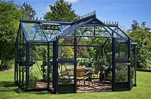Serre Acier Verre : juliana la maison du jardin dim 296 x 439 x 255 cm serre ~ Premium-room.com Idées de Décoration