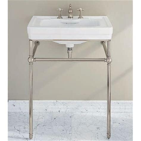 porcher console bathroom sinks console sink stand chrome home design