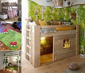 Creative Forest Themed Kids Bedroom And Nursery Decor Ideas