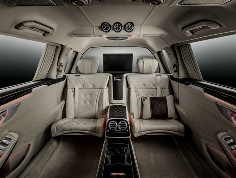Obviously, we don't have enough space here to describe the pullman's features, so we'll only say that it features an interior completely lined with leather and an. Mercedes-Maybach S600 Pullman debuts at Geneva Image 316073