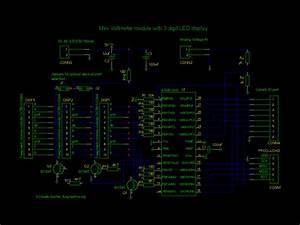 Tuxgraphics Org  Mini 3 Digit Display  An Inexpensive Digital Voltmeter Module