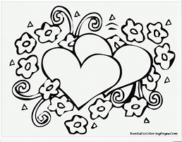 HD wallpapers valentine coloring pages dltk www