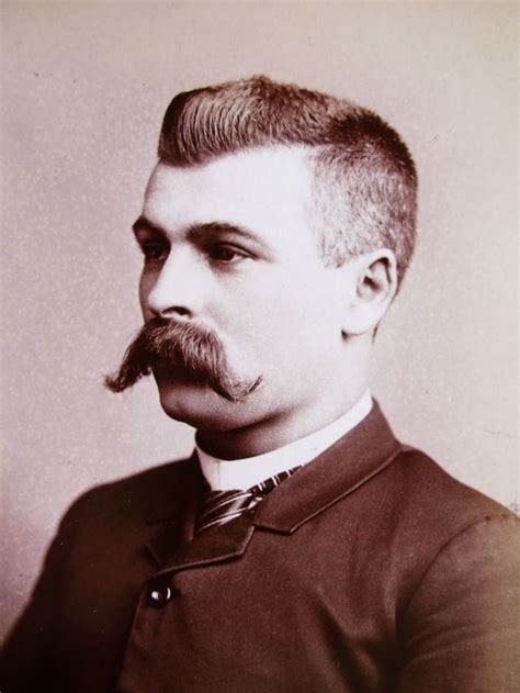vintage portraits  extremely handsome victorian men