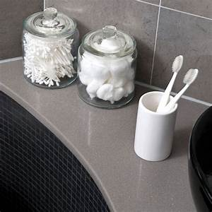 see this sleek grey bathroom makeover ideal home With grey bathroom accessories uk