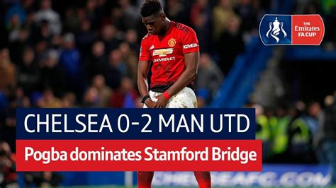 Chelsea vs Manchester United (0-2) | Emirates FA Cup ...