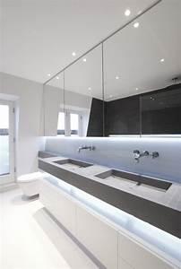 L39eclairage salle de bains led conseils et idees elegantes for Miroir salle de bain spot integres
