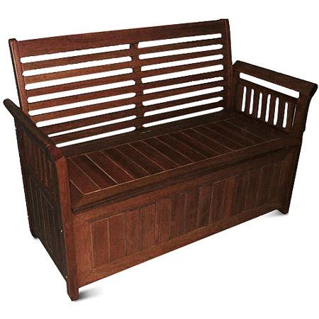walmart garden bench delahey 4 outdoor storage bench patio furniture