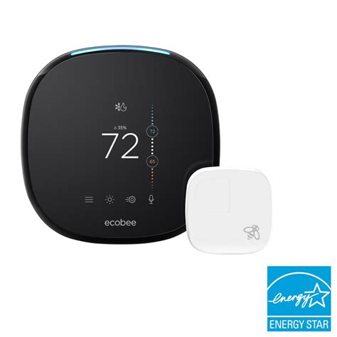 bath rugs ecobee ecobee4 7 day smart wi fi programmable thermostat