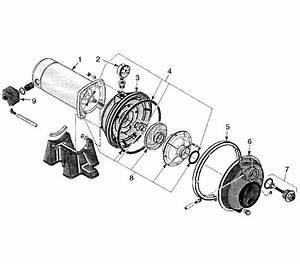 Simer 3310p Water Pump Parts