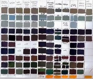 Scale Model Comparison Chart Paint Color Quotes Quotesgram