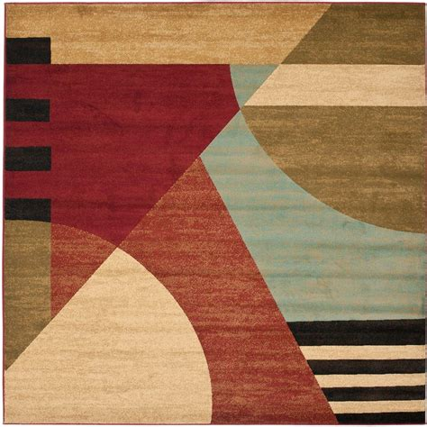 7 square area rug safavieh porcello multi 7 ft x 7 ft square area rug