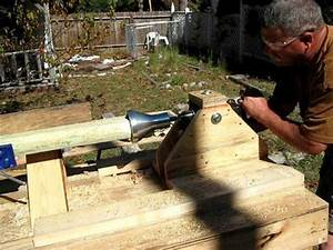 timber jig for tenon cutter - YouTube