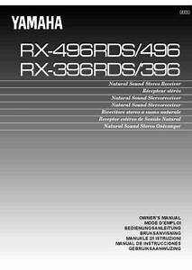 Yamaha Rx 496 Receiver Download Manual For Free Now