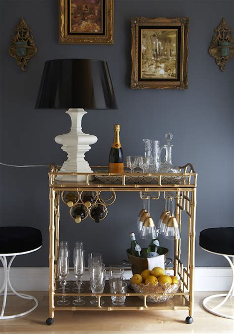 How To Decorate A Bar by How To Decorate A Bar Cart The Sobremesathe Sobremesa