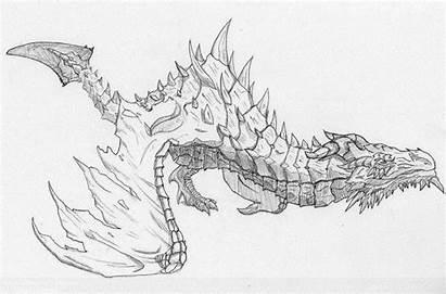 Skyrim Dragon Paarthurnax Elder Deviantart Coloring Tattoo