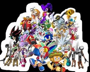Sonic Riders ZG Collage by Darkuron on DeviantArt