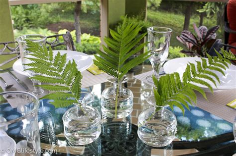 simple  casual centerpieces omg lifestyle blog