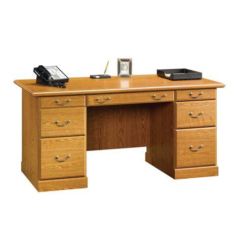 executive desk accessories wood shop sauder orchard hills traditional executive desk at