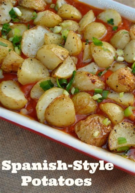 Start studying mashed potatoes spanish. Spanish Roasted Potatoes With Tomato Sauce Recipe — Dishmaps