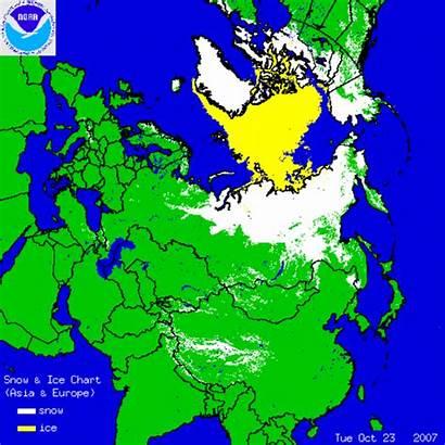 Snow Ice Arctic Winter Harsh Growth Siberian