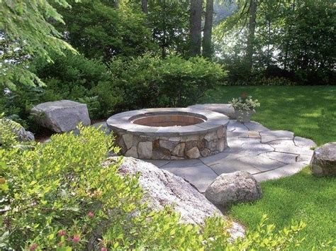 pit landscaping 17 best images about fire pit ideas on pinterest fire pits small backyard patio and landscapes