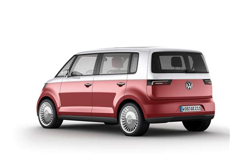 volkswagen concept van vw could launch bulli van into expanded retro family with
