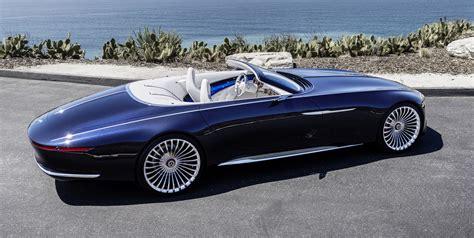 Vision Mercedesmaybach 6 Cabriolet  Future Luxury