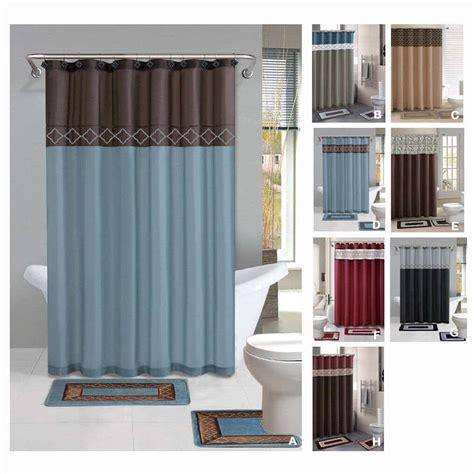 complete bathroom sets  shower curtains  budget