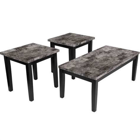 furniture maysville 3 occasional table set in