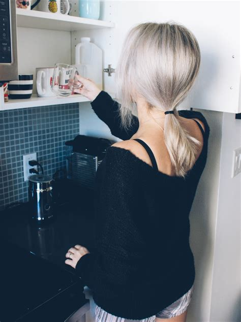morning coffee  gourmesso nespresso blondie