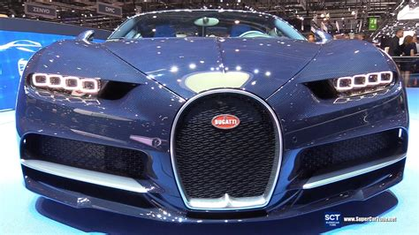 Bburago 1:18 bugatti chiron diecast car unboxing review. 2017 Bugatti Chiron Blue Royal - Exterior and Interior Walkaround - 2017 Geneva Motor Show - YouTube