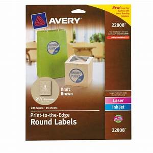 Avery 25 inch round labels images frompo for 5 inch round labels