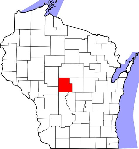 File:Map of Wisconsin highlighting Wood County.svg - Wikipedia