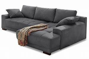 Ecksofa Mit Schlaffunktion Grau : ecksofa roberto mit schlaffunktion grau sofas zum halben preis ~ Frokenaadalensverden.com Haus und Dekorationen
