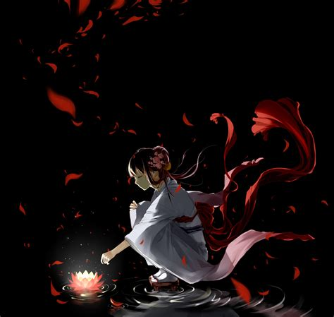 Creepy Anime Wallpaper - lotus creepy anime wallpaper 3800x3600