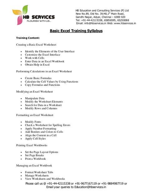 course syllabus template basic excel syllabus
