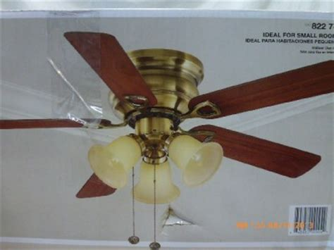 hton bay clarkston ceiling fan hton bay clarkston 44 in antique brass ceiling fan