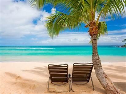 Summer Beach Wallpapers Chairs Sand Desktop Beaches