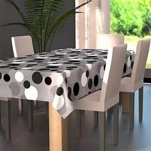 Nappe De Table Rectangulaire : nappe rectangulaire l240 cm pop gris nappe de table eminza ~ Teatrodelosmanantiales.com Idées de Décoration
