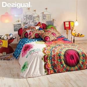 Parure De Lit Desigual : desigual desigual lit parure de lit et deco ~ Melissatoandfro.com Idées de Décoration