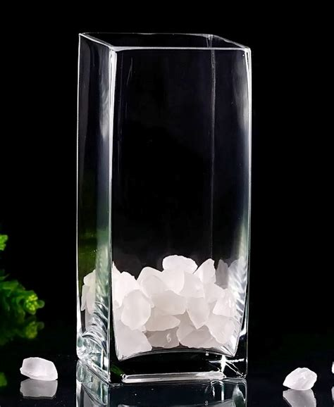 square glass vase 9 quot square vases in bulk vases free shipping