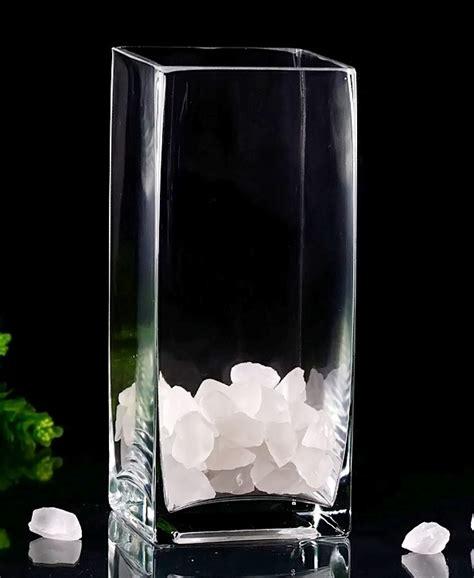 square glass vases 9 quot square vases in bulk vases free shipping
