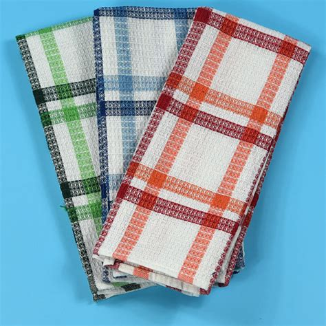 Kitchen Towels Wholesale by Wholesale Cotton White Waffle Weave Kitchen Towel For Dish